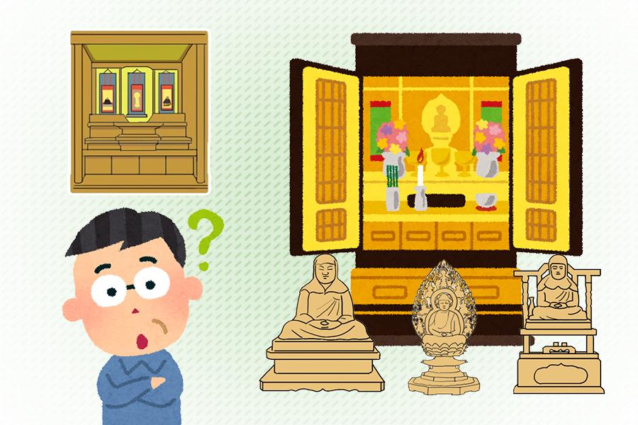 仏壇に祀る掛け軸